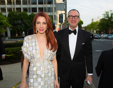 Jennifer Zuccarini (Founder at Fleur du Mal) and Edward Menicheschi (Publisher of Vanity Fair and Vice President of Conde Nast Publications)