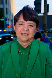 SEC Chairman Mary Jo White on her way to the Hilton for WHCD