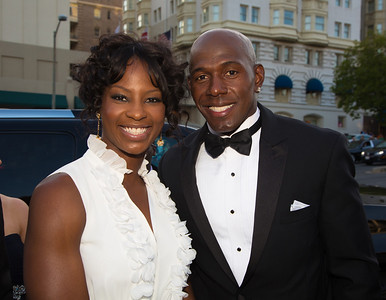 Donald Driver is a former American football wide receiver who played for the Green Bay Packers. With wife Tina.
