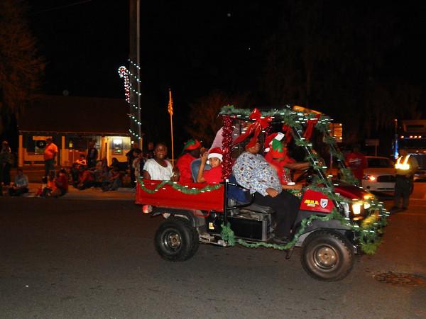 White Springs Christmas parade scenes