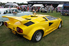 Lamborghini Countach at White Waltham Retro Festival Classic Car Rally 2011