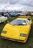 Lamborghini Countach at White Waltham Retro Festival Classic Car Rally 2011