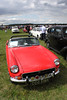 1971 MGB Roadster at White Waltham Retro Festival Classic Car Rally 2011