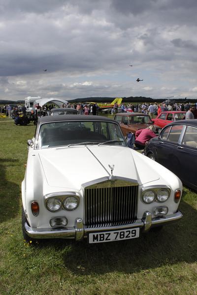 Rolls Royce Silver Shadow at White Waltham Retro Festival Classic Car Rally 2011