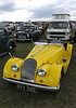 Morgan Plus 4 classic sports car at White Waltham Retro Festival Classic Car Rally 2011