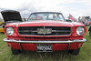 1960s Ford Mustang at White Waltham Retro Festival Classic Car Rally 2011