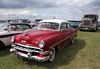 1950s Chevrolet Bel Air at White Waltham Retro Festival Classic Car Rally 2011