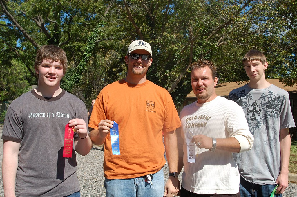 Goober Flingin' Winners Whitesboro Peanut Festival, 2009