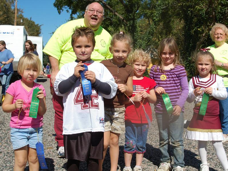 Goober Toss Winners Whitesboro Peanut Festival, 2009