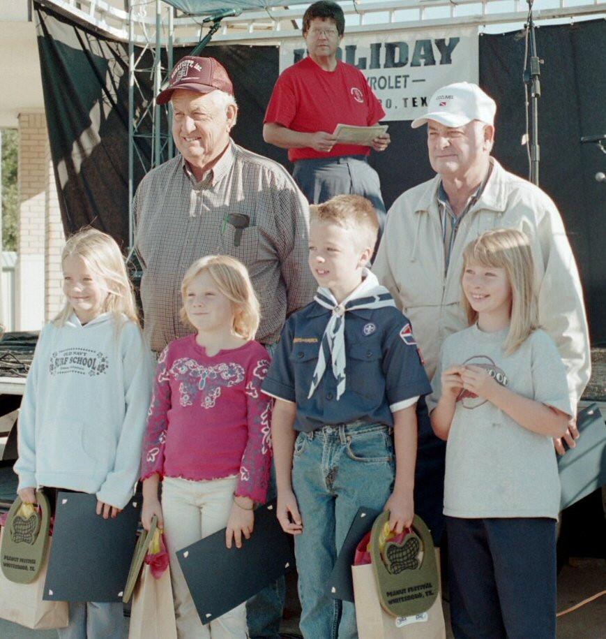 Peanut Farm Winners, Whitesboro Peanut Festival, 2004