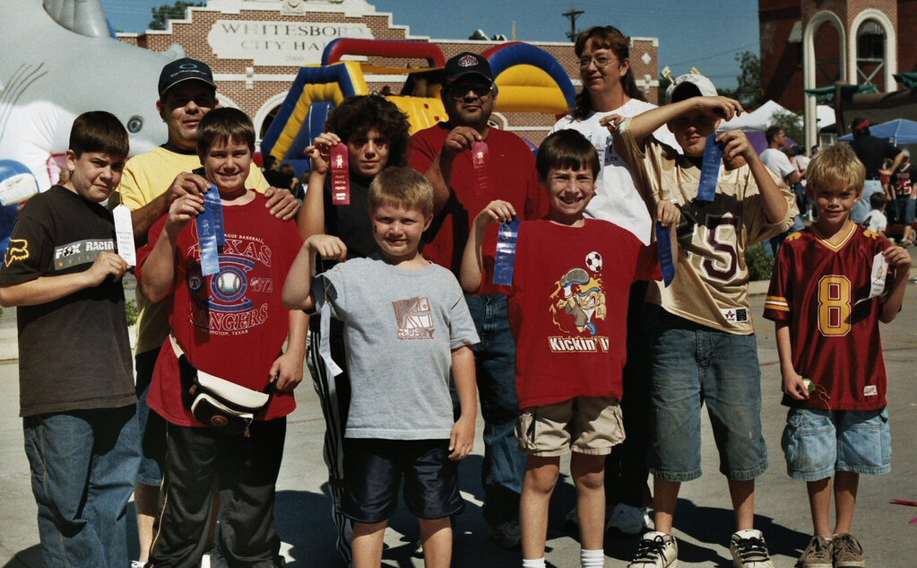 Peanut Contest Winners Whitesboro Peanut Festival, 2004