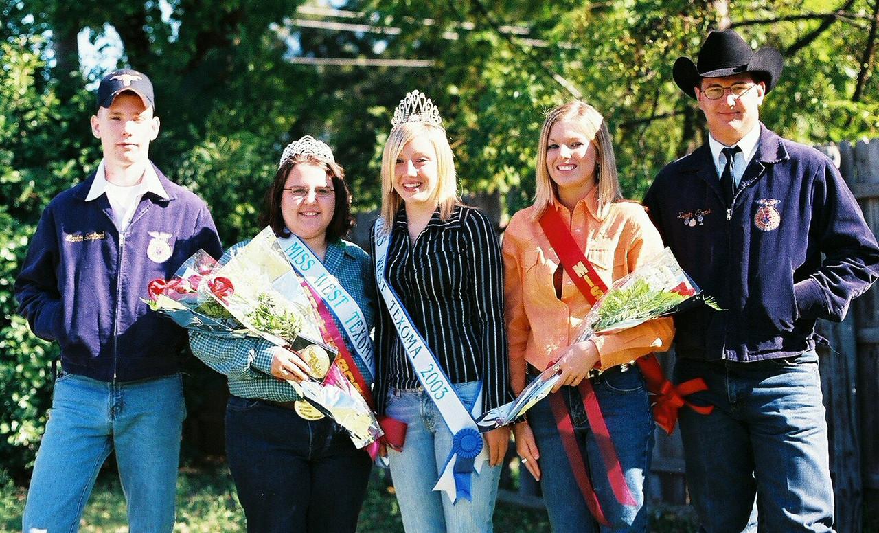 Miss West Texoma Court Whitesboro Peanut Festival, 2004