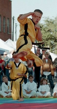 Karate show Whitesboro Peanut Festival, 2004