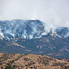 Whitewater-Baldy fire, as seen from Leopold Vista on May 29, 2012.<br /> Photo by Richard M Berg.