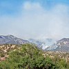 Whitewater-Baldy fire, June 4, 2012, as seen from ~3mi south of Glenwood, NM.<br /> This photo was taken from the same place as several of the night shots, to show what it looks like by daylight.<br /> Photo by David Thornburg