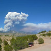 Whitewater-Baldy fire, May 22, 2012<br /> Photo taken by Marty Allen, near jct hwy 180 and Big Dry Creek.
