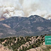 Whitewater-Baldy Fire May 29, 2012.<br /> Photo taken from 1 mile north of Glenwood.<br /> Photo by Brian Neidermayer.
