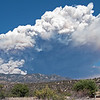 Whitewater-Baldy fire May 22, 2012 by David Thornburg. Location where taken: 3mi south of Glenwood, NM. Smoke plume is rising over Mogollon mountains.