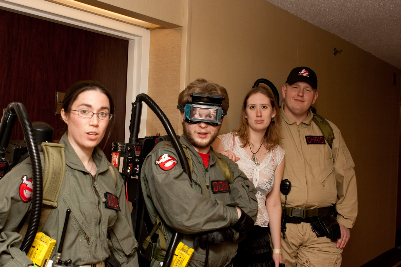 The New Jersey Ghost Busters.