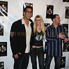 Spero Stramboulis from the Bachelorette TV Show, Roberta Thompson Wicked Threads designer and Joey DiPaolo founder The Joey DiPaola Foundation for AIDS