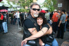 Michael and Zella Snieder at the Wild Hogs in Hogtown DVD release Party.