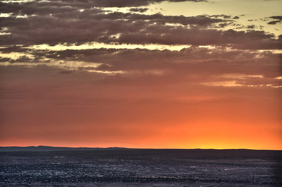 Sunset - 3 shot HDR