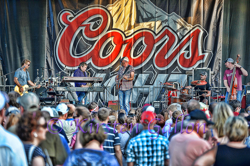 Corey Smith and band.