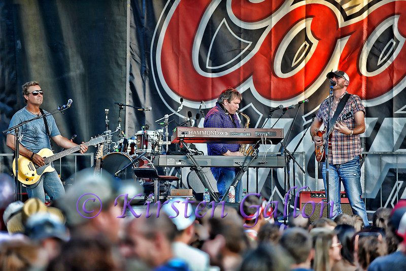 Corey Smith and band.