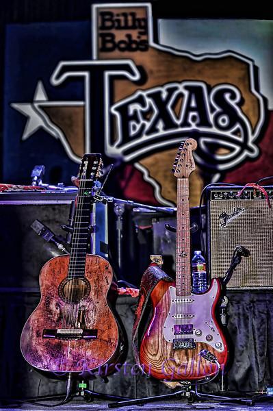 Willie's guitars.