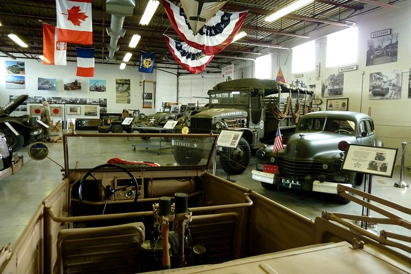 2015 Wills Ste. Claire Auto Reunion visits Arsenal of Democracy Museum, St. Clair Shores, MI