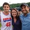 L-R   Dominic, Cristine and Joe Polito of Wilton