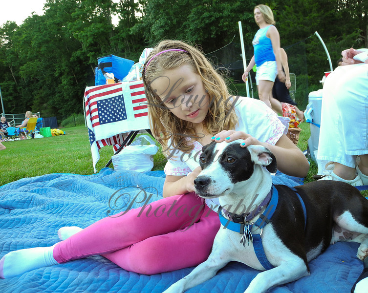 "Wilton4th-01 -- Natalie Cronin with ""Cookie"" from Wilton."