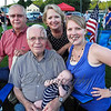 Wilton4th-4Generations -- Tobiassen Family, Wilton, 4 generations celebrating.