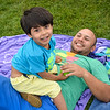 Fun Dad: Eddy Mendez with son, Nicolas from Wilton