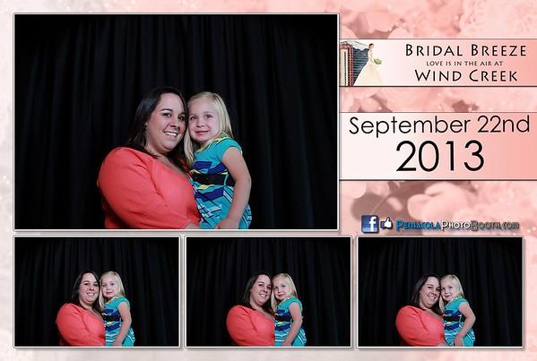 Bridal Breeze at Wind Creek  09-22-2013