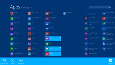 In Windows 8.1, downloaded apps are no longer automatically pinned to your Start screen. Instead, you can bring up the Apps page and select which ones you'd like on the Start screen.