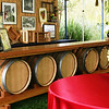 Custom Wine Barrel Bar