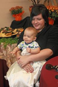 My daughter, Sam, and my grandson, Mateo.