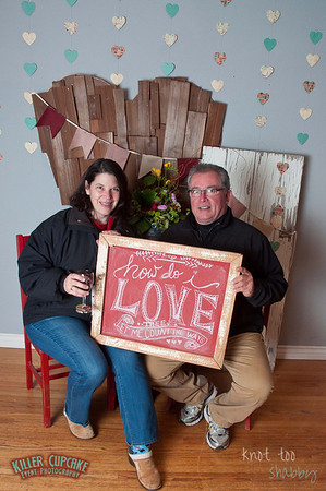 Wine Walk Valentine Photo Booth