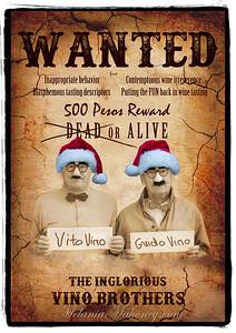 Wanted Poster Santa
