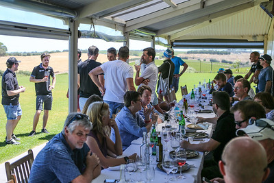 Winery Lunch at Tour Down Under