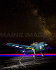 Lightpainting.  TBM-3E Avenger Torpedo Bomber.  Terxas Flying Legends Museum.  Wiscasset, Maine.