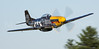 "The P-51D Mustang, ""Never Miss"".  Murphy Family Flying.  Wiscasset, Maine.   0302"