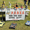 This is part of a display set up by the Penn/Ohio Radio Kontrol Society — or PORKS, for short. — Sam Luptak Jr.