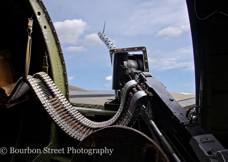Waist Gun on a B-17G