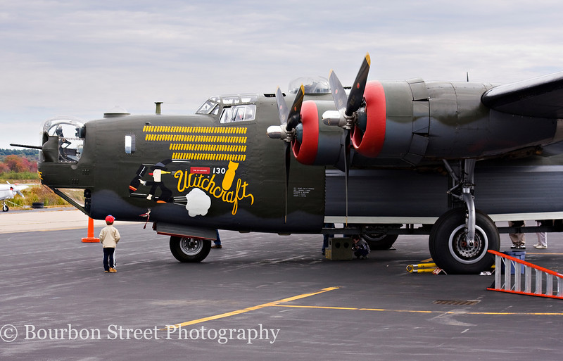 "Consolidated B-24J Liberator ""Witchcraft"""