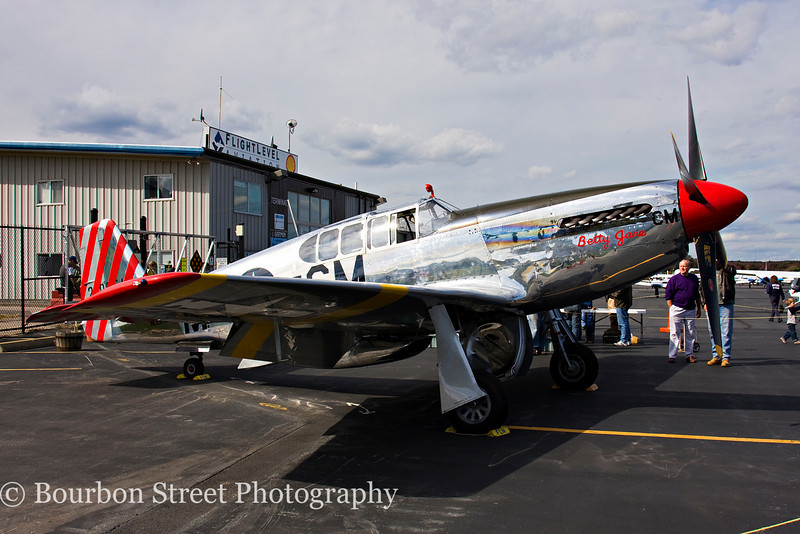 "North American TP-51C Mustang ""Betty Jane"""