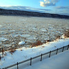 Icy Hudson River