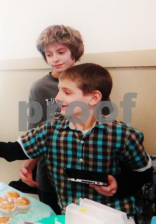 Zachary and Aidan Pate