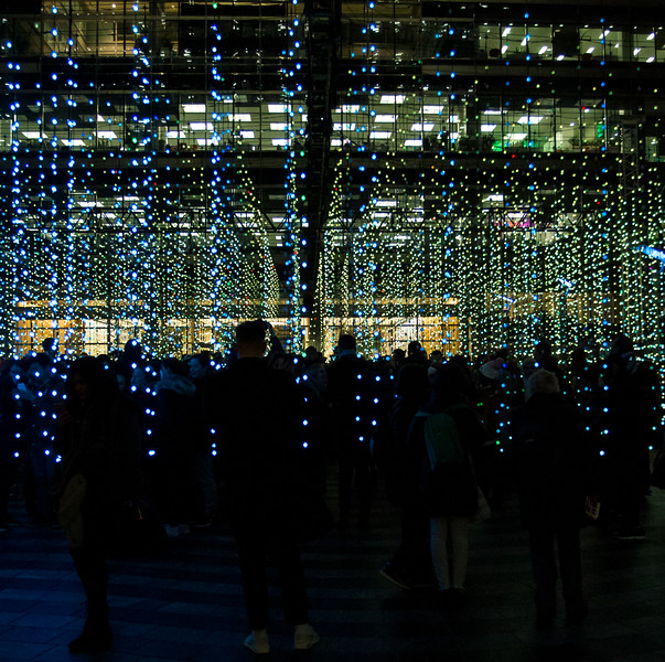 Winter Lights - Canary Wharf